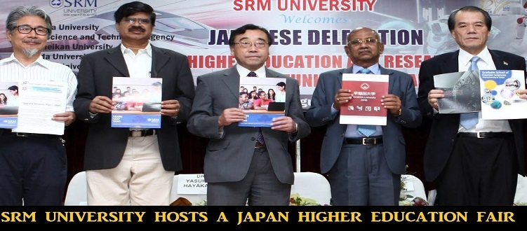 SRM University Hosts JHE Fair with University of Tokyo