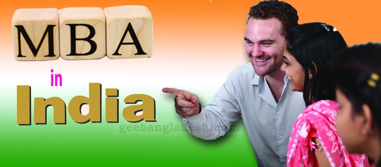 Pursue an MBA degree in India