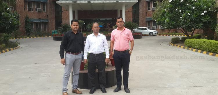 Sharda University delegation visits GEE Bangladesh on Dec 23