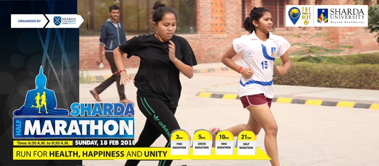 Sharda University announces Sharda Marathon 2018