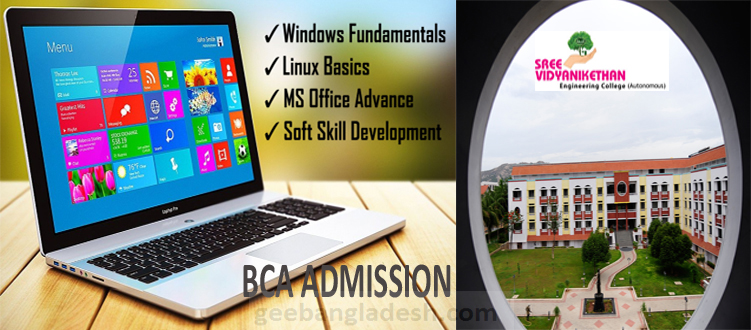 SVEC offers Bachelor of Computer Application Course