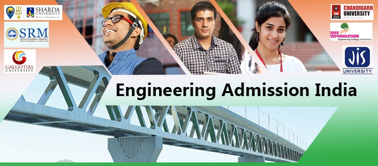 Engineering admission in India 2018