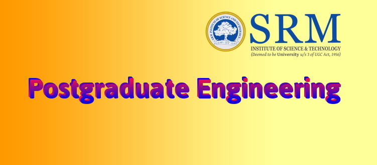 SRM Master and PhD engineering courses