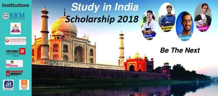 Study with Scholarship in India