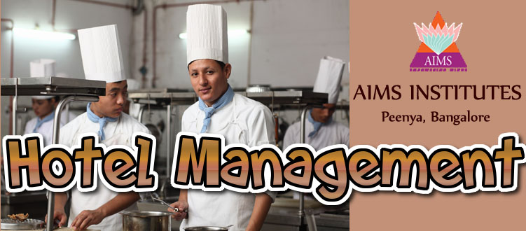 Hotel Management at AIMS Institutes