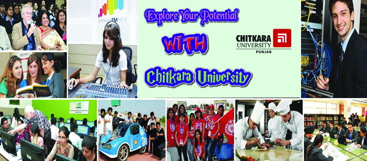 B Tech at Chitkara University