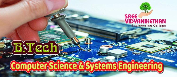 B Tech at SVEC