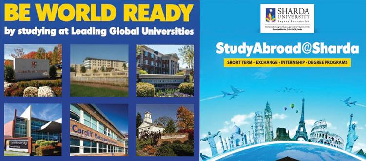Grab the opportunity to Study Abroad with Sharda
