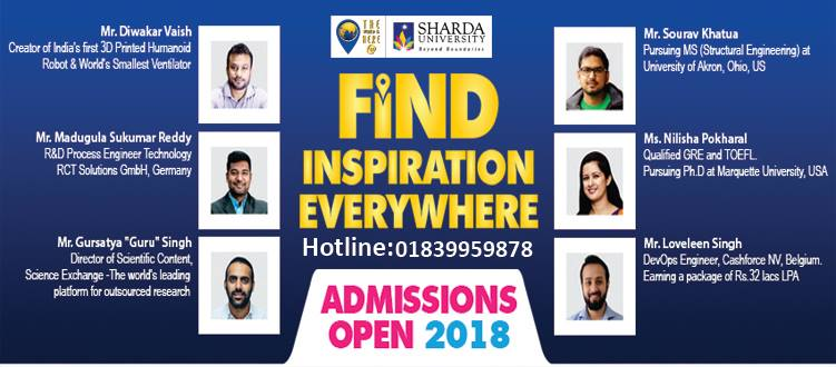 Find Inspiration everywhere with Sharda