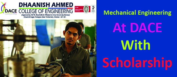Mechanical Engineering at DACE
