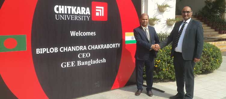 Chitkara University Admission and Scholarship Week 2018, Dhaka