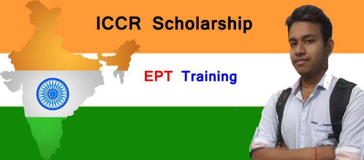 ICCR Scholarship EPT Training