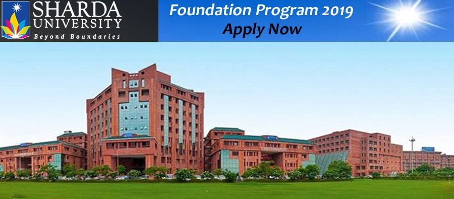 Sharda University Foundation Program 2019