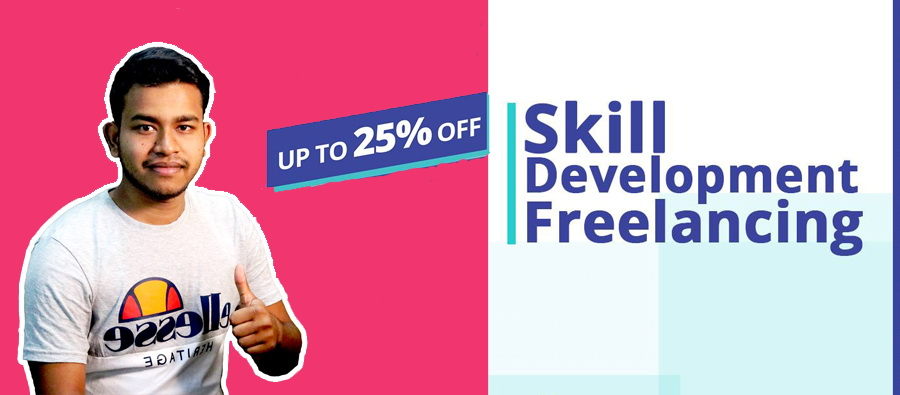 Skill Development, Freelancing and IT Training with discount