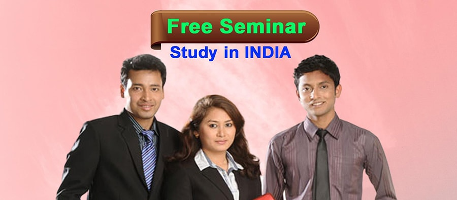 Free Seminar on Study in India