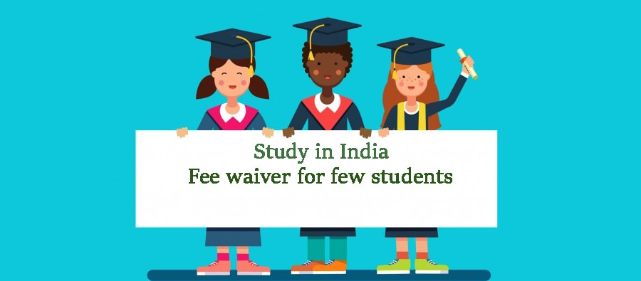 Study in India without Tuition Fee