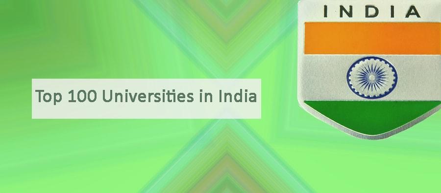 Top 100 Universities in India by NIRF 2019 Ranking