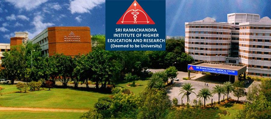 Sri Ramachandra University Courses, Tuition Fees and Scholarship