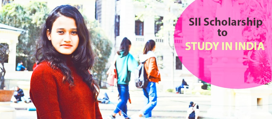 SII Scholarship to study in India