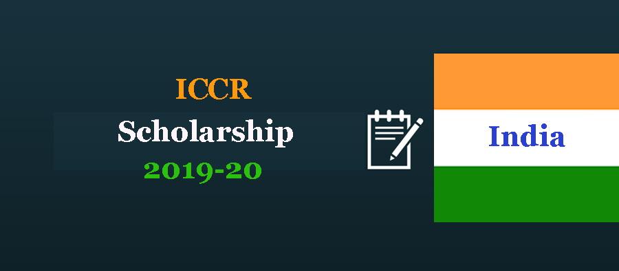 ICCR Scholarship 2019-20