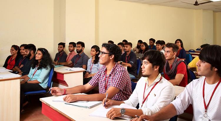 SRM University B Tech Class commencement notice
