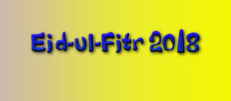eid-ul-fitr 2018