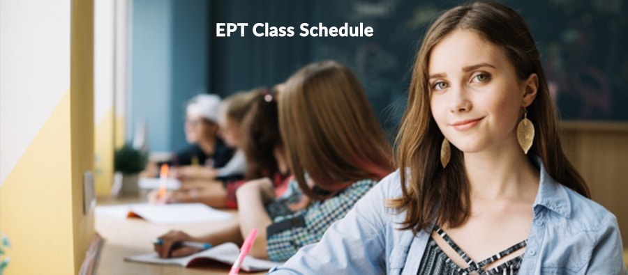 EPT Class Routine for ICCR Scholarship 2020-21