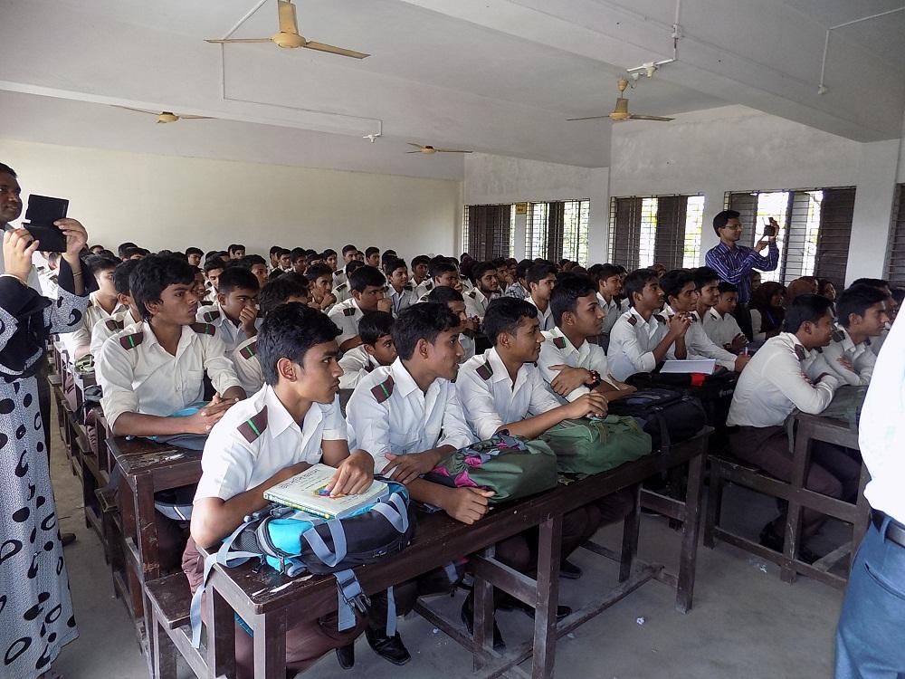 SRM University School visit in Jessore